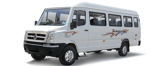 9 Seater Tempo Traveller hire Jaipur