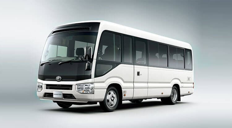 Luxury AC BUS/COACH 19 SEATER Taxi Service