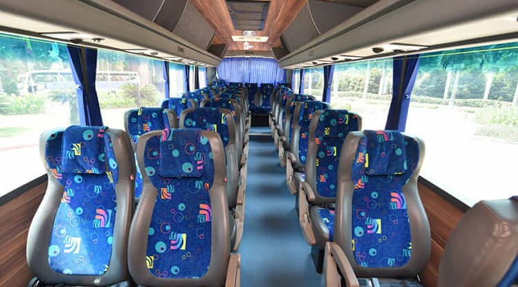 Luxury AC BUS/COACH 27 SEATER Taxi Service