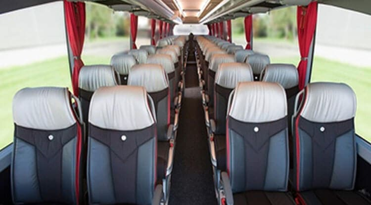 Luxury AC BUS/COACH 45 SEATER Taxi Service