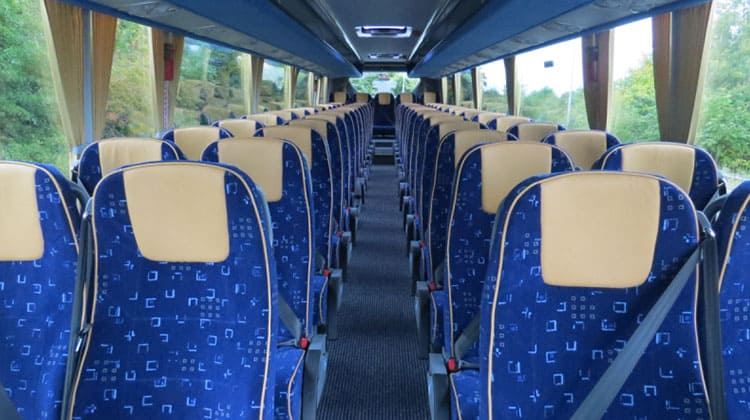 Luxury AC BUS/COACH 52 SEATER Taxi Service