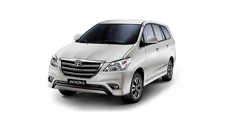 Luxury TOYOTA INNOVA 7 Seater Taxi Service