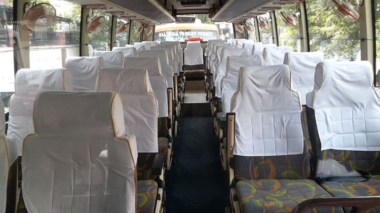 Luxury AC BUS/COACH 35 SEATER Taxi Service