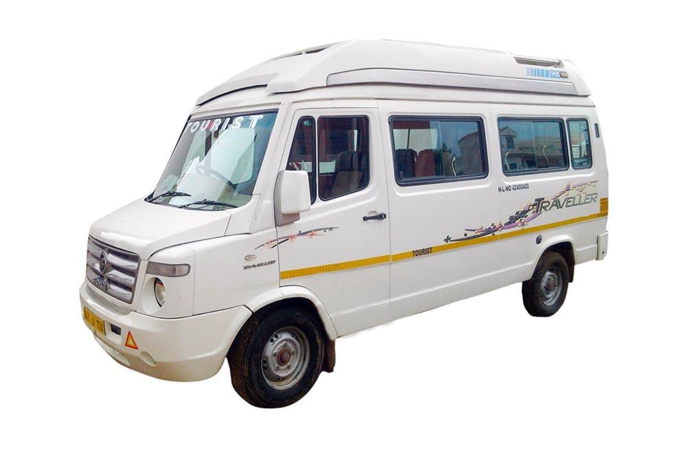 Luxury Maharaja Tempo Traveller Taxi Service