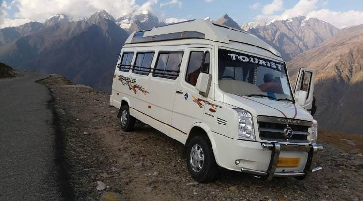 Luxury 12 seater Tempo Traveller on rent in jaipur Taxi Service