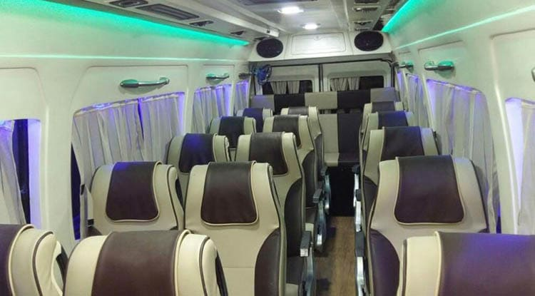 Luxury Tempo Traveller 15-seater Jaipur Taxi Service